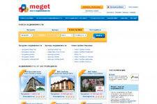 скриншот сайта Meget