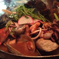 live octopus birthday dinner at sik gaek
