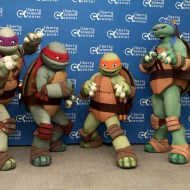 teenage mutant ninja turtles come to the liberty science center