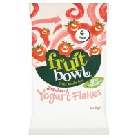 Morrisons: Fruit Bowl Strawberry Yogurt Flakes 126g ...
