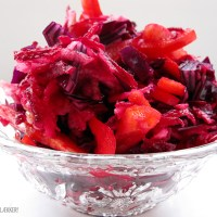 Rød antioxidant-salat