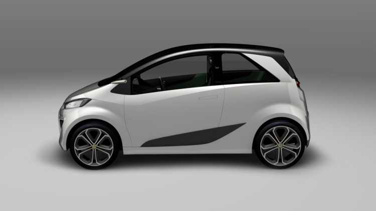 City Chique Interieur Het Zesde Concept: Lotus City Car Concept | Groenlicht.be