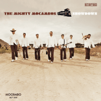 The Mighty Mocambos release SHOWDOWN ft Afrika Islam, Afrika Bambaataa, Shawn Lee, DeRobert and more