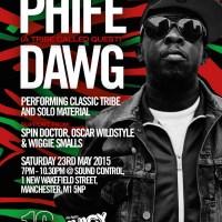 Manchester's Funk / Hip Hop May: Phife Dawg, Homeboy Sandman, Tuxedo, Cymande, KRS-ONE