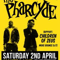 Manchester: The Pharcyde and Children Of Zeus // Sat 2nd April 2016