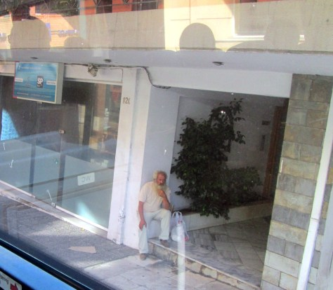 Old Greek Street Dude