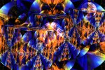 Landscape With Cubes and Bubbles