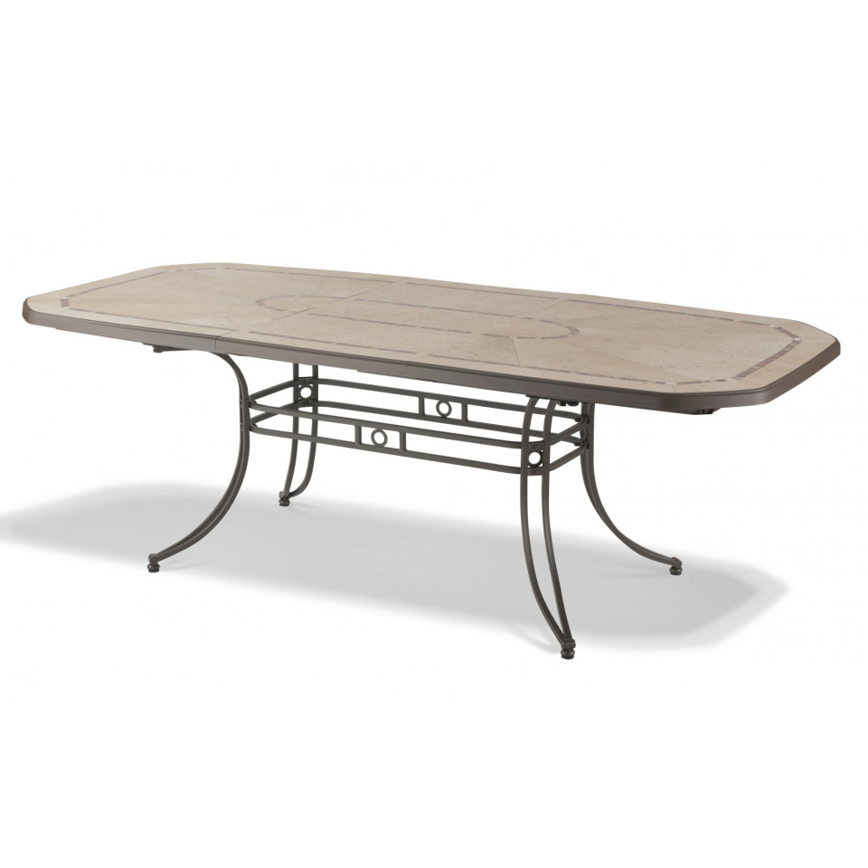 Table Jardin Table De Jardin Amalfi 220 Cm Bronze