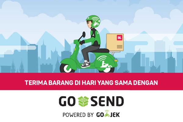 Delivery Order melalui Go Send by Gojek