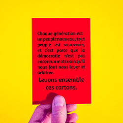 Cartons rouges 2016