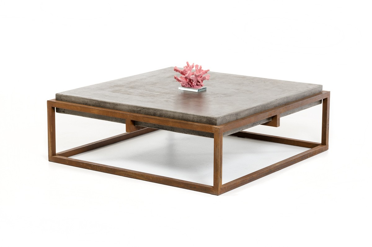 Modern Furniture Ottawa Coffee Table Home Styles Concrete Cement Modrest Shepard Modern
