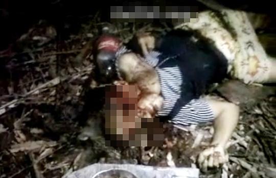 【レ○プ殺人】女性二人を犯して斧で頭をカチ割るキチガイ映像・・・