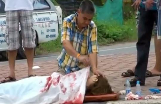 【胸糞注意】事故死した娘の前で動けなくなった父親が可哀相過ぎる・・・