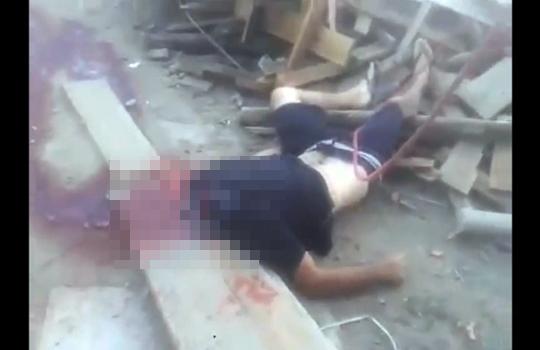 【グロ注意】工事中事故で少年の首が吹き飛んだ・・・ 閲覧注意