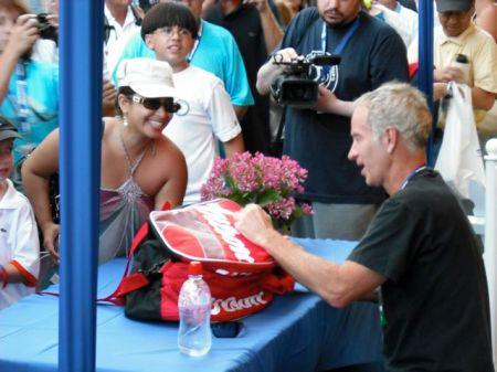 John McEnroe Autograph Signing