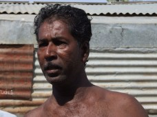 We are still suffering. Politicians visit us,when they want our votes says Abdul Kaathar 50 who is a fisherman