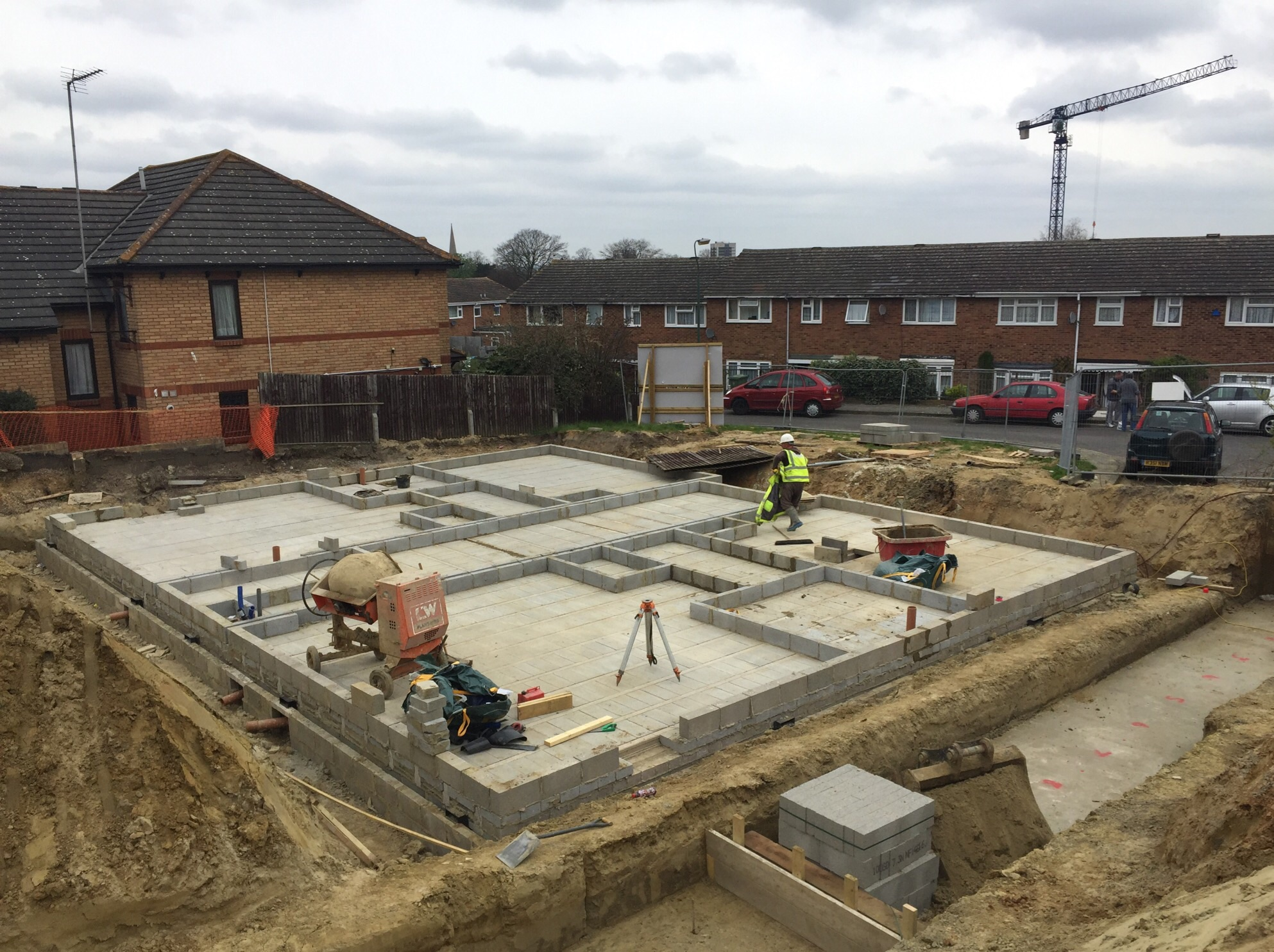 Aldi Herne Tesco Express Groundworks Solutions Ltd