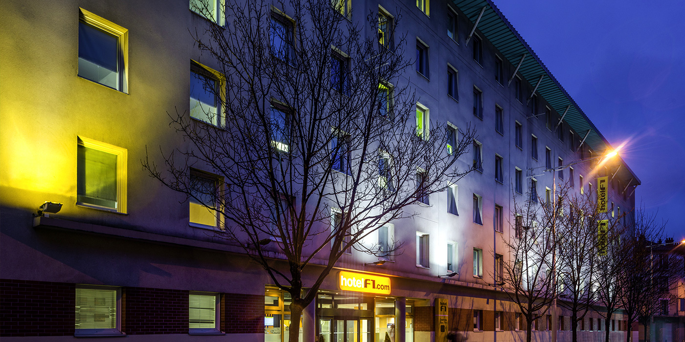 Hotel Porte De Bagnolet Discover Hotel F1 Hotels And Services