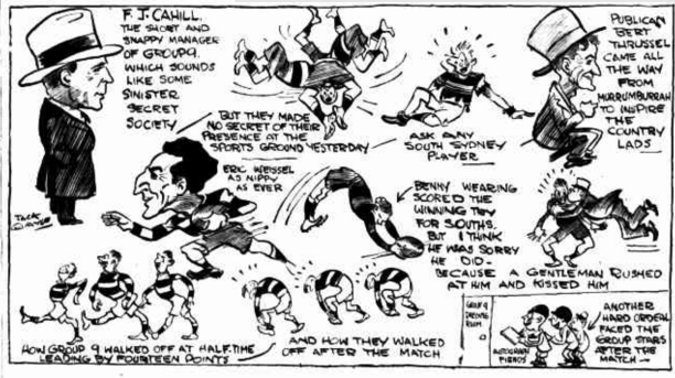 Cartoon from The Truth 1 October 1932