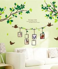 Decorative Living Room Wall Art Sticker Decals - Birch ...