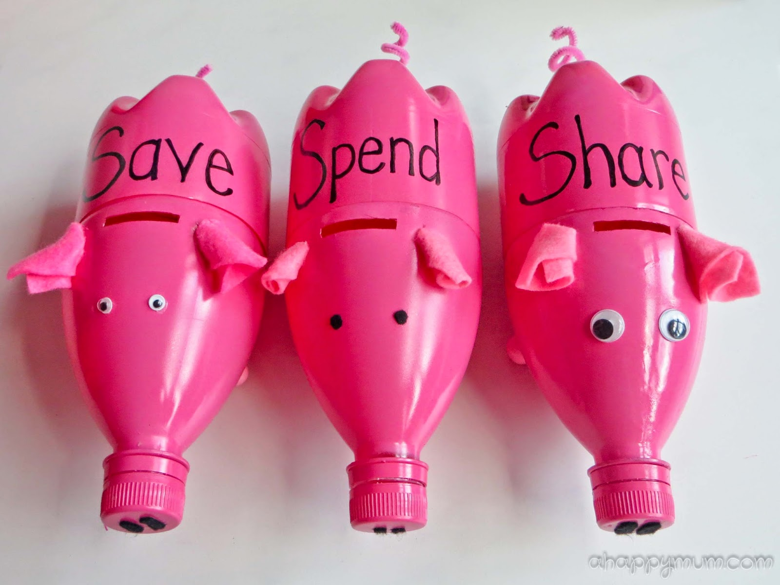 Piggy Bank Idea 5 Best Way To Reuse Plastic Bottles Recycling Plastic