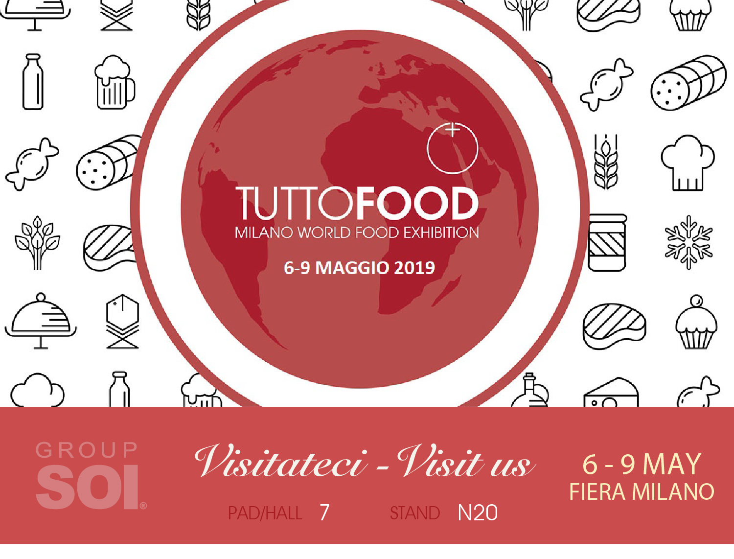 Soi So Group Soi At Tutto Food In Milan From 6 To 9 May 2019