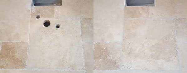 Change Color Of Kitchen Floor Tile Oregon Tile And Grout Cleaning Before And After Pictures