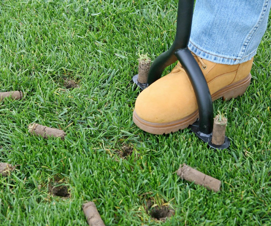 Grass Aerator Aeration Grove City Landscaping