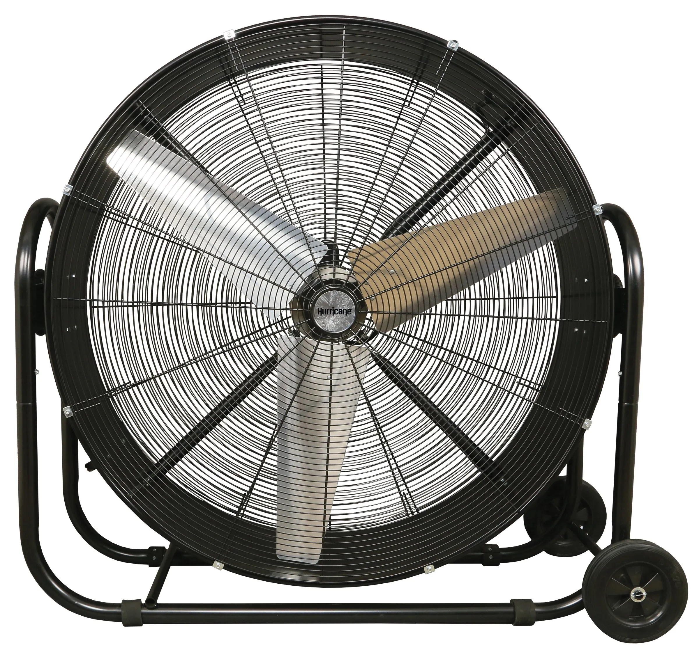 Garage Workshop Fan Hurricane Pro Heavy Duty Adjustable Tilt Drum Fan 42 In