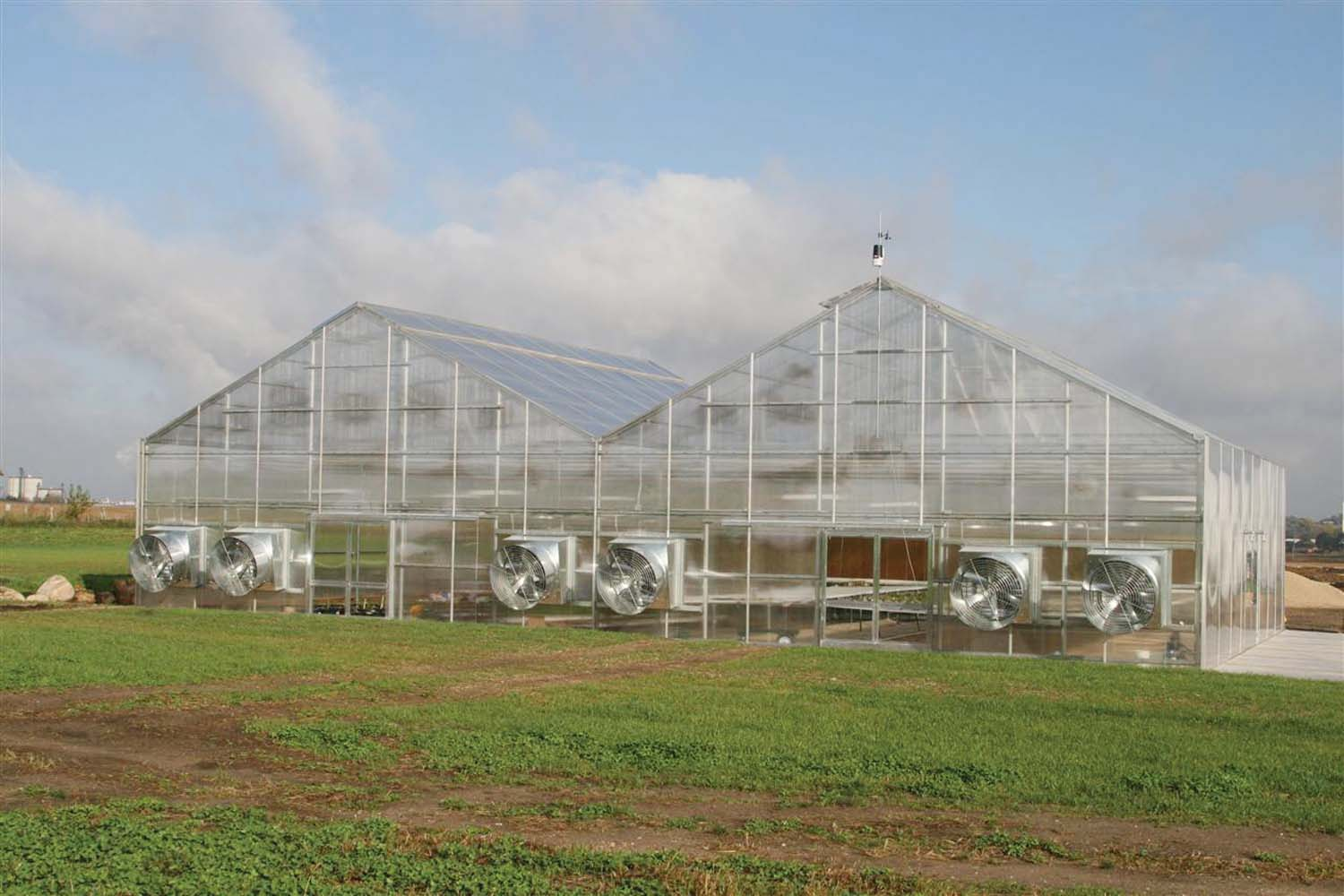 Gesloten Serre Greenhouse Growers Supply