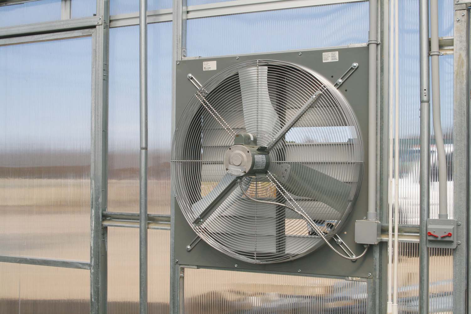 Garage Ventilation Fan Thermostat Greenhouse Exhaust Fans Bing Images