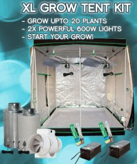 Extra Large Hydroponic Grow Tent Kit - Free UK Delivery