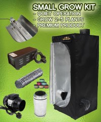 Small Grow Tent Kits - Indoor Hydroponic 250w Grow Tent ...