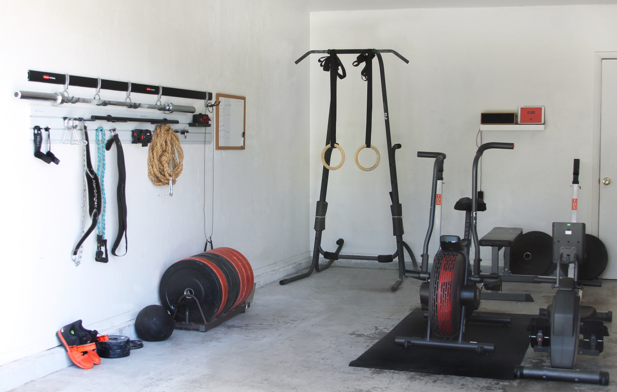 Garage Gym Storage Ideas 5 Easy Steps For Turning Your Garage Into A Gym Growing