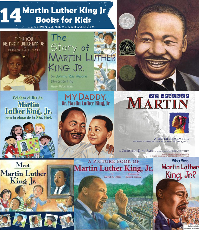 14 Martin Luther King Jr Books for Kids - GUBlife