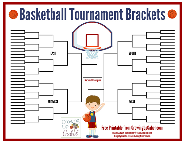 How to Host Family Basketball Tournament Brackets - A Fun Family