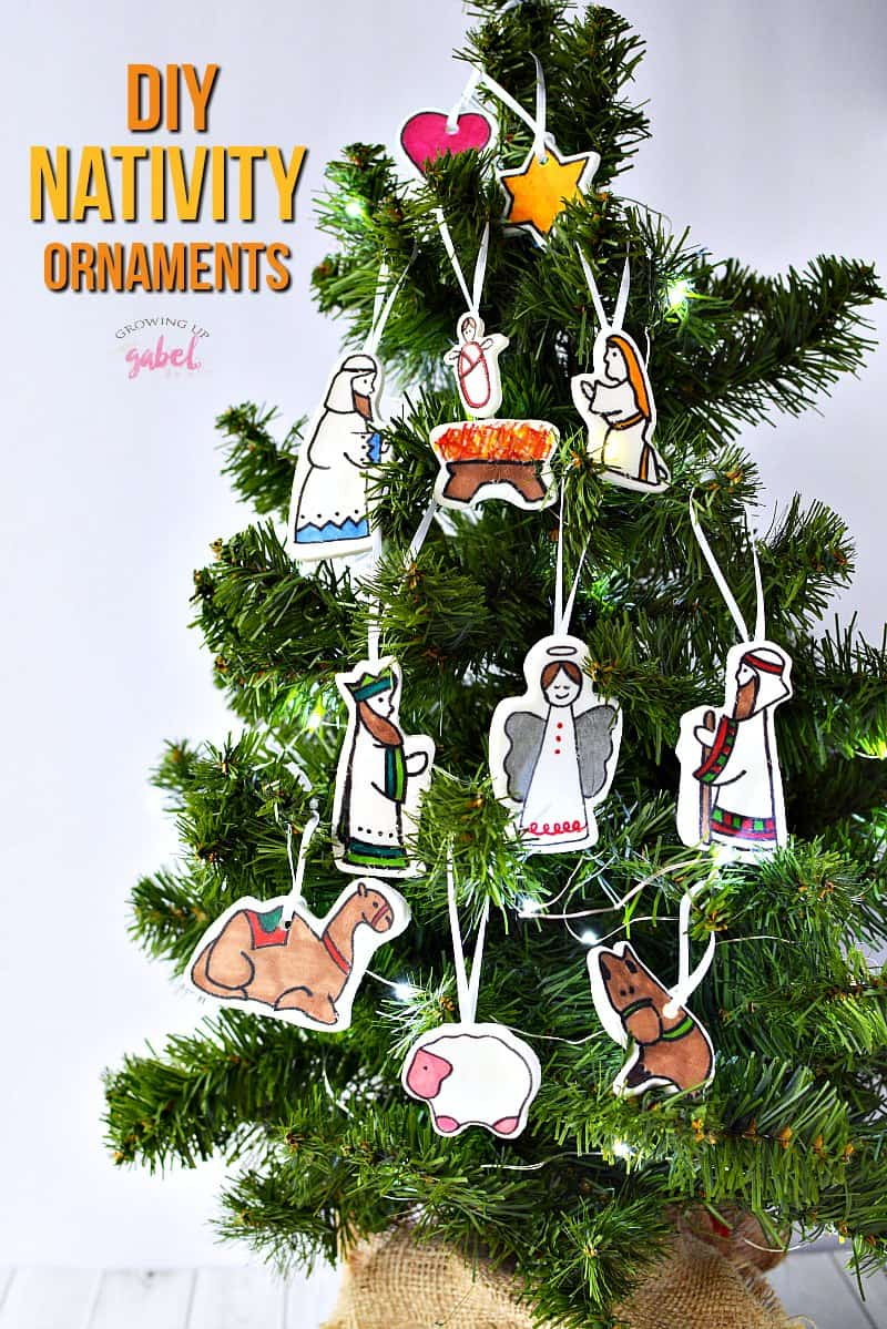 Diy Christmas Ornaments Diy Nativity Christmas Ornament Crafts For Kids And Adults