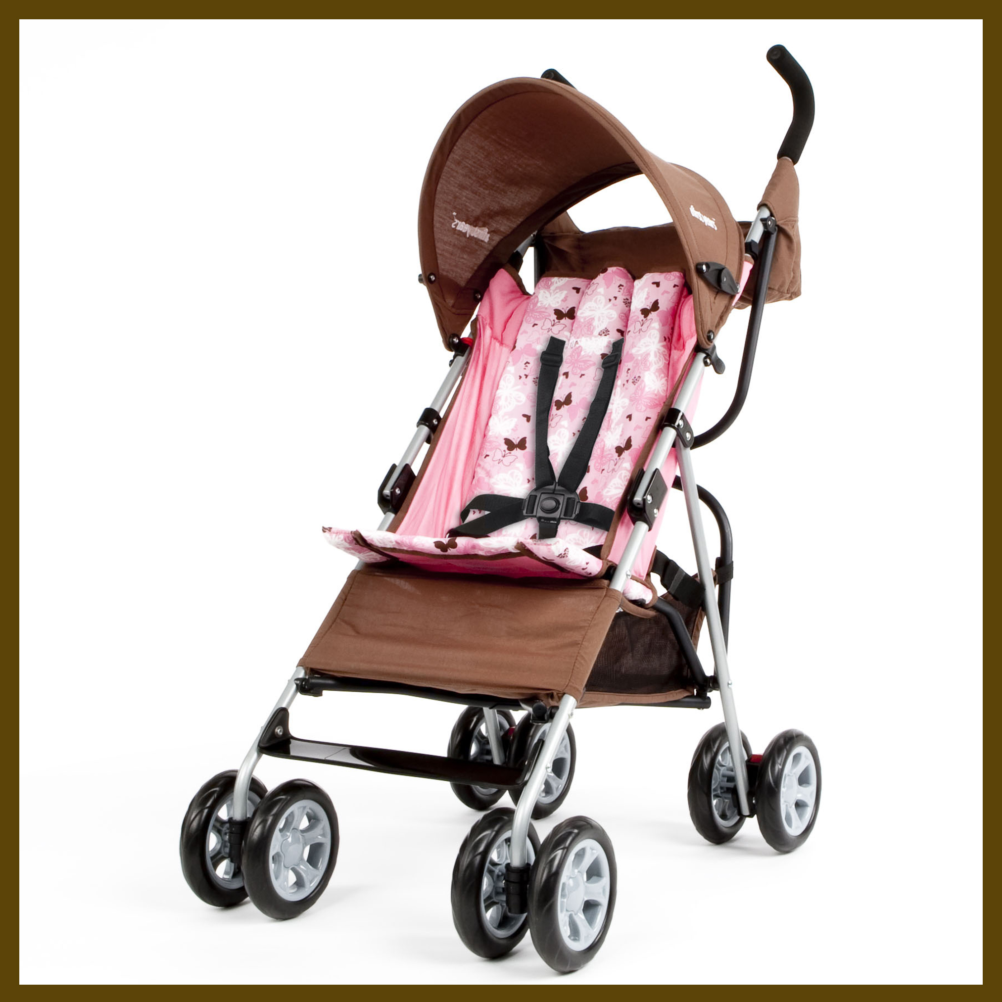 Umbrella Stroller First Years Jet Stroller Butterfly Pattern Growing Your Baby
