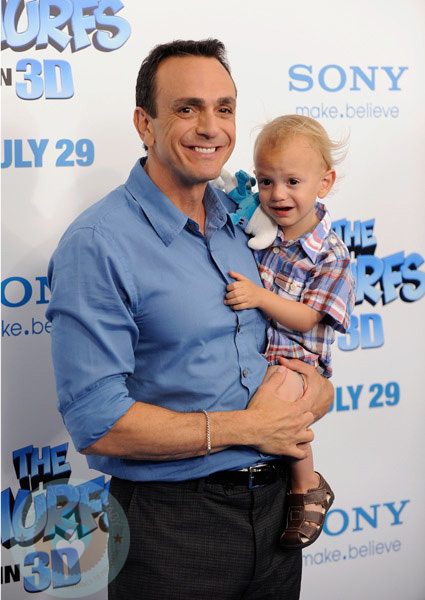 Compact Car Seat Stroller Hank Azaria With Son Hal Growing Your Baby