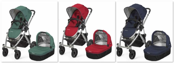 Stroller With Built In Bassinet Uppababy Introduces Mesa Infant Car Seat New Options For