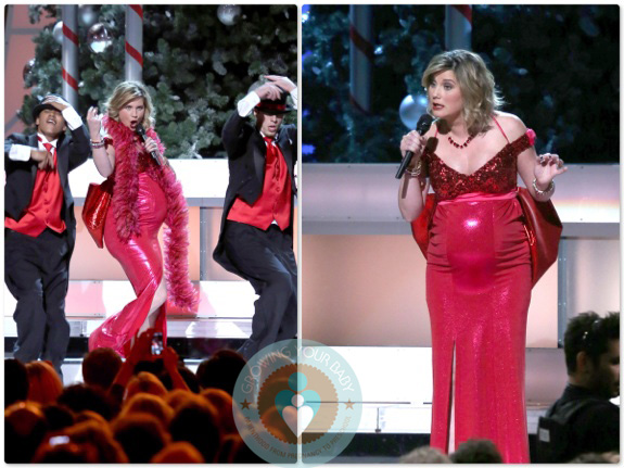 Joolz Baby One A Very Pregnant Jennifer Nettles Rocks The 2012 Country