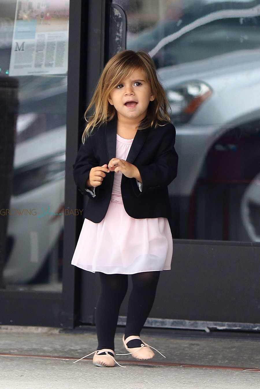 Newborn Baby Car Seat Test Penelope Disick At Dance Class With Cousin North Growing
