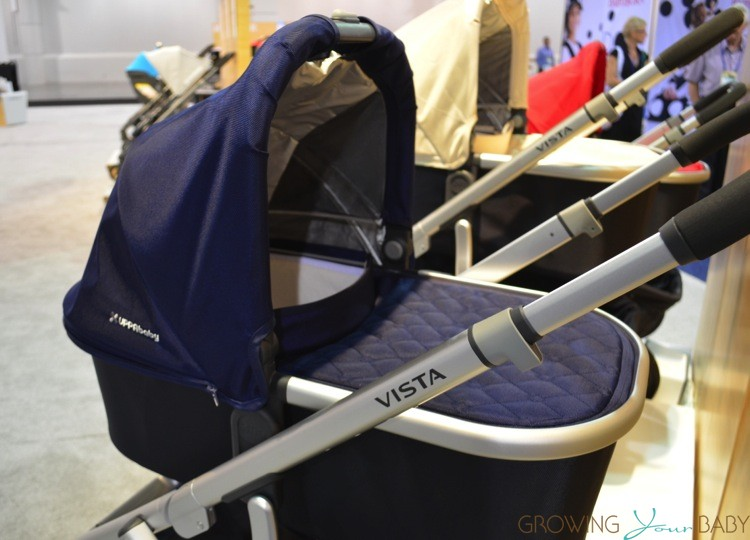 Newborn Baby Car Seat Test Uppababy 2014 Vista Cruz Bassinet Growing Your Baby