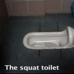 The Secret to Using a Squat Toilet