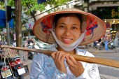 Vietnamese woman, vietnamese woman with cone hat, Things to Know Before you Go To Vietnam