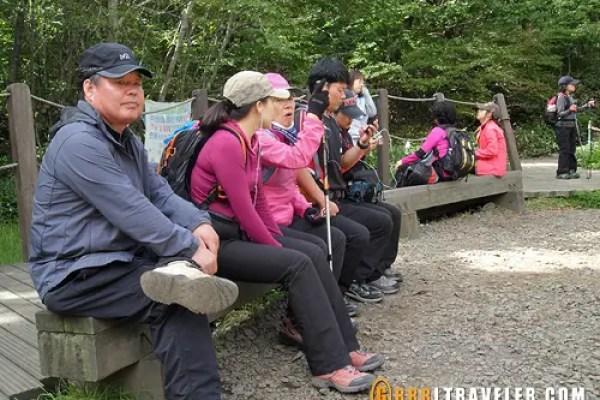 Korean hiking fashion, hiking in jeju, jeju island sightseeing, what to do in jeju island, what to see in jeju