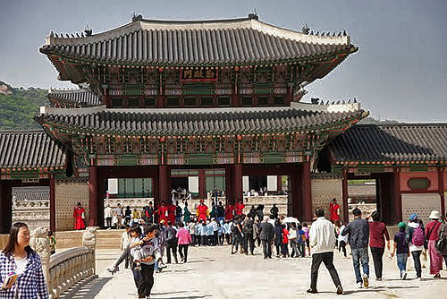 Gyeongbuk gung palace photos