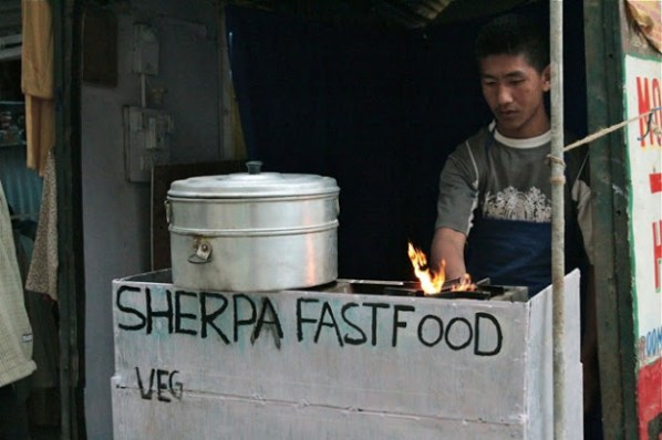 what is sherpa food, mcleodganj