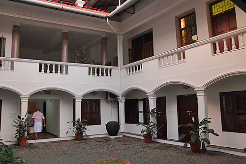 tom's old mansion, fort cochin