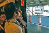 girl on Skytrain